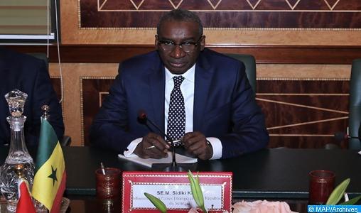 """Ministre sénégalais des AE: """"Toutes les causes justes qui intéressent le Maroc, le Sénégal s'y intéresse aussi"""""""
