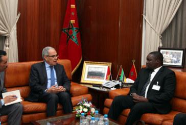 M. Loudyi reçoit le Vice-ministre de la Défense nationale de la République du Mozambique