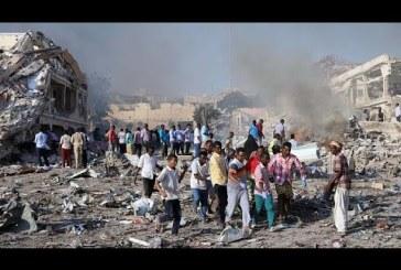 Double attentat à Mogadiscio: le bilan s'alourdit à 45 morts