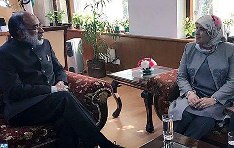 Le renforcement de la coopération en matière d'artisanat au centre d'entretiens maroco-indiens à New Delhi
