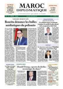 Le numéro 24 de Maroc diplomatique est dans les kiosques