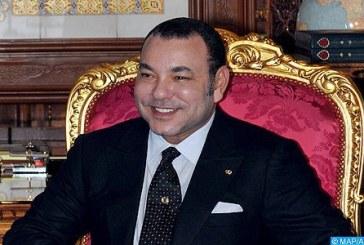 SM le Roi félicite le Gouverneur Général de Sainte-Lucie à l'occasion de la fête nationale de son pays