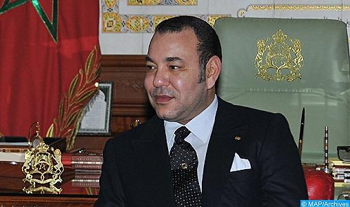 Message de félicitations de SM le Roi à la Présidente de la Croatie à l'occasion de la fête nationale de son pays
