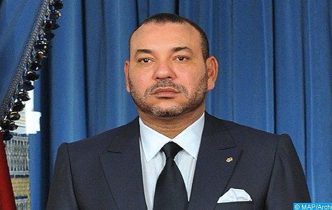 Message de condoléances de SM le Roi au Président Rohani suite au crash d'un avion iranien