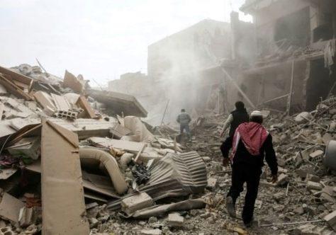 Syrie: 36 morts dans de nouvelles frappes du régime à l'est de Damas (nouveau bilan)
