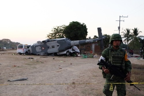 Accident d'hélicoptère au Mexique: le bilan monte à 14 morts et 15 blessés