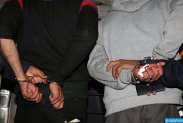 Arrestation de deux Algériens pour leur implication présumée dans un vol à Marrakech