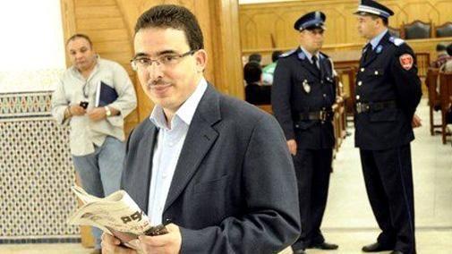 M. Bouachrine déféré en état d'arrestation devant la chambre criminelle près la cour d'appel de Casablanca