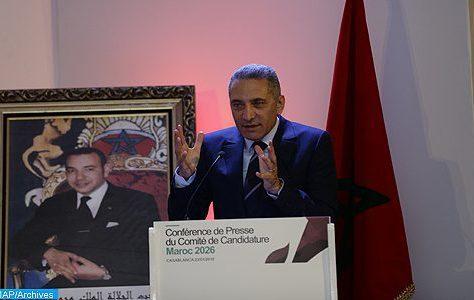 Candidature du Maroc au Mondial 2026 : Une mobilisation générale pour présenter un dossier de