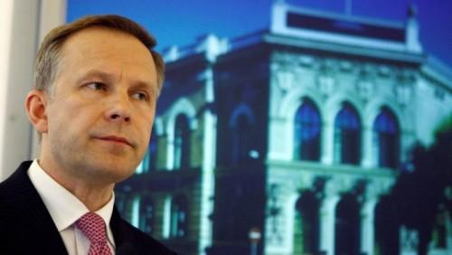 Lettonie-Gouverneur de la banque centrale détenu pour corruption