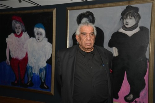 Hossein Tallal à la Galerie Atelier 21: Portraits imaginaires et continuité dans le changement