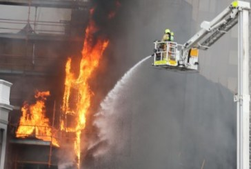 Australie: Un incendie ravage un immeuble de dix étages à Sydney