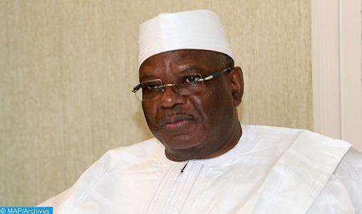 Le Président Boubacar Keïta fait part de ses sincères remerciements à SM le Roi pour la formation de 500 imams