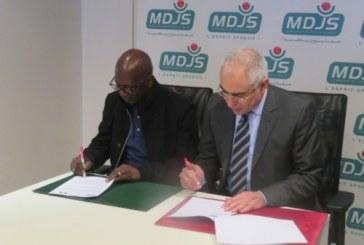 La MDJS signe un partenariat avec la Loterie Nationale de Guinée Bissau