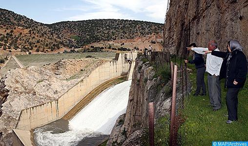 Le taux de remplissage des barrages à 40,1%, le 13 février