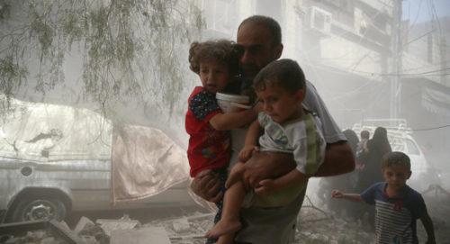"""Syrie: Washington """"gravement alarmé"""" par les informations d'attaques chimiques dans la province d'Idleb"""