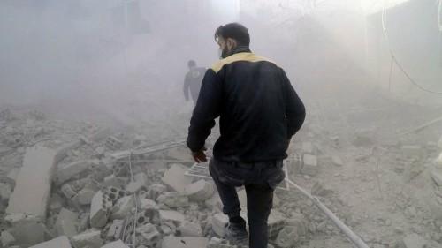 Syrie: Plus de 220 morts civils en une semaine dans la Ghouta orientale
