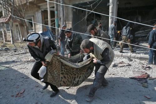Syrie: 10 morts dans de nouveaux bombardements du régime sur la Ghouta