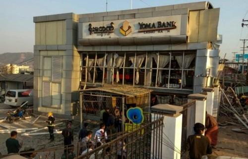 Birmanie: une bombe tue deux personnes dans une banque