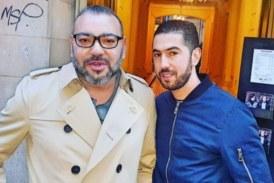 Nouvelles photos du roi Mohammed VI à Paris