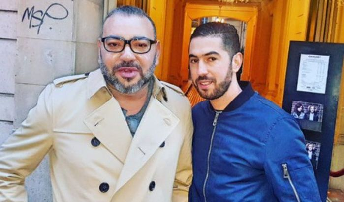 Nouvelle photo du roi Mohammed VI à Paris