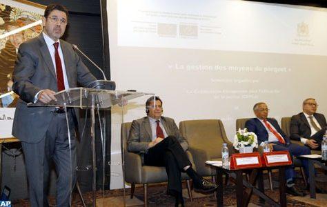 M. Abdennabaoui appelle à s'informer des bonnes pratiques internationales en vue de développer les capacités du ministère public