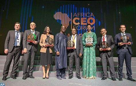 L'OCP et la DG de Saham finances primés au 6ème Africa CEO Forum à Abidjan
