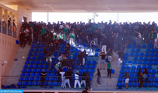 Actes de vandalisme au stade de Marrakech: Condamnation de 21 personnes