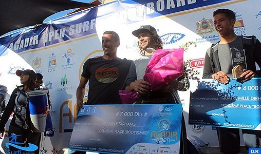 Agadir Open surf et bodyboard: Les Marocains aux premiers rangs