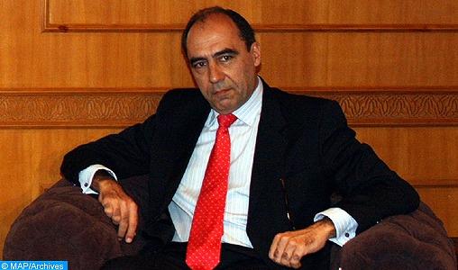 L'Inspecteur général des FAR reçoit le Secrétaire général adjoint de l'OTAN, Alejandro Alvargonzalez