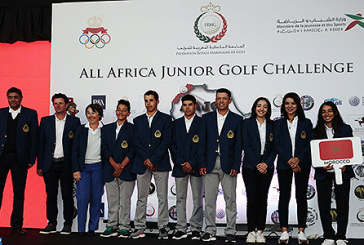 Présentation de la 15è édition de l'All Africa Junior Golf Challenge