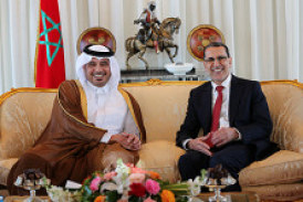 Le Premier ministre du Qatar en visite officielle au Maroc