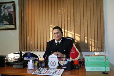 Commissaire principal Souad Azi, une pionnière qui a balisé la voie du succès pour des générations de Marocaines