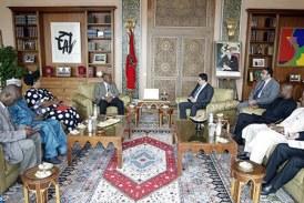M. Bourita s'entretient avec une délégation parlementaire nigériane
