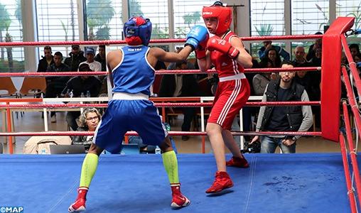 Tournoi international de boxe féminine: les séniors du Maroc tiennent tête à leurs homologues françaises (3-3)