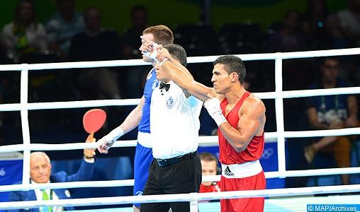 Le pugiliste Mohamed Rabii remporte son cinquième combat professionnel