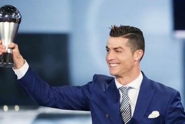 Cristiano Ronaldo élu meilleur joueur portugais de l'année 2017