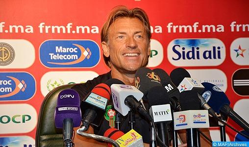 Maroc-Espagne : déclarations des entraîneurs