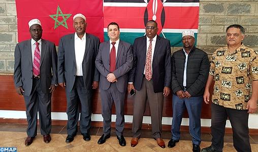 Une délégation du Conseil suprême des Musulmans du Kenya en visite de travail au Maroc samedi