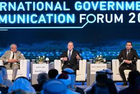 Vous M. El Khalfi retrace à Charjah les étapes phares de la réforme numérique au Maroc