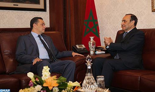Rabat: Les moyens de renforcer les relations bilatérales au centre d'entretiens maroco-égyptiens