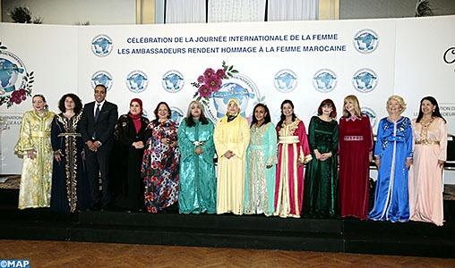 Journée internationale de la femme: Les ambassadrices accréditées au Royaume rendent un vibrant hommage à la femme marocaine