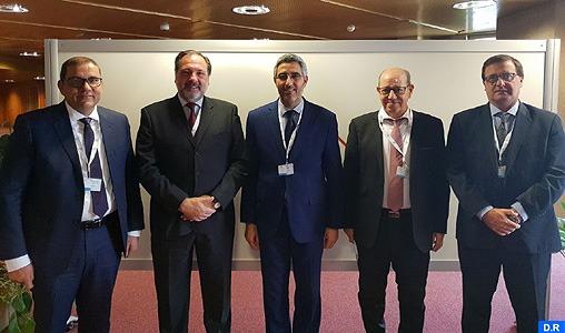 Union interparlementaire: la délégation marocaine s'entretient à Genève avec des présidents de parlements sud-américains