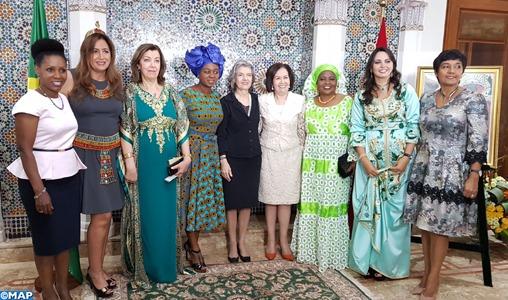Hommage appuyé aux femmes à Brasilia lors d'un déjeuner diplomatique organisé par le Maroc