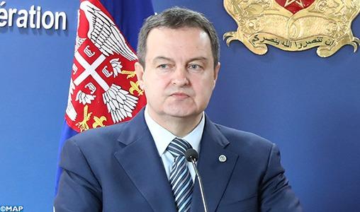 Le chef de la diplomatie serbe invite les futurs diplomates marocains à densifier la coopération avec son pays