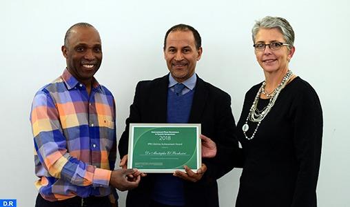 """Le scientifique marocain Mustapha El Bouhssini reçoit en Angleterre le """"Prix d'Excellence à Vie"""""""