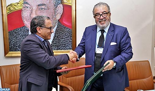 Signature d'une convention de partenariat entre la MAP et l'ISIC