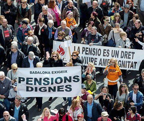 Nouvelles manifestions des retraités à Madrid et Barcelone pour réclamer des pensions dignes