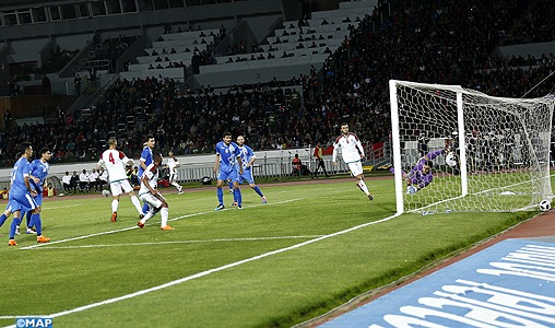 Préparatifs pour la Coupe du Monde 2018 : Le Maroc s'impose face à l'Ouzbékistan 2-0