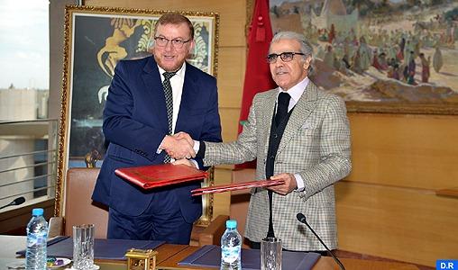 Le ministère de l'Equipement et BAM signent un accord de partenariat dans le domaine de l'impression des documents sécurisés